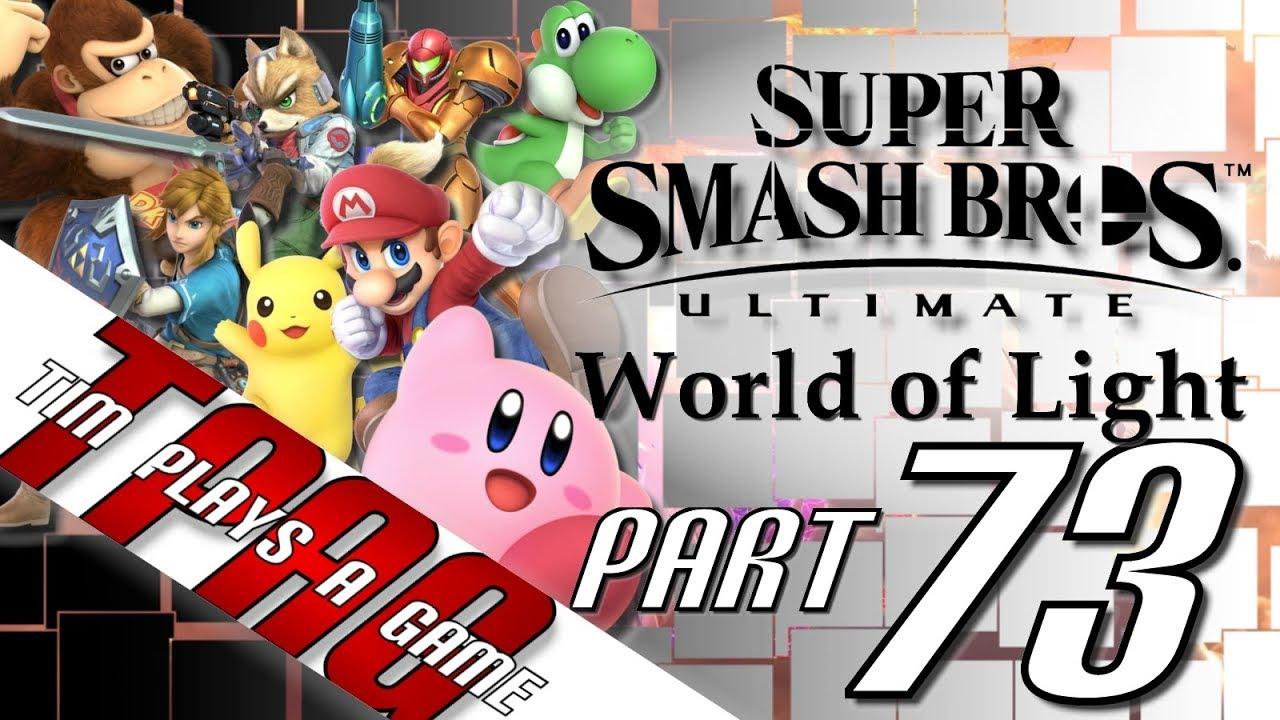 Smash Bros Ultimate World Of Light 73 Dark Pit Robin