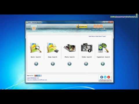 Samsung Galaxy Tab Lost Data Restore: DDR Android Recovery Software