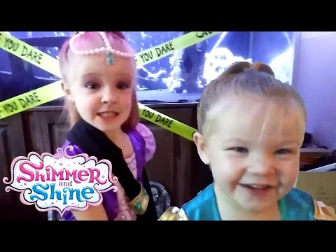 Trinity's Broken Arm Shimmer and Shine Dance - Madison Hates Being Left Out - Sibling Rivalry