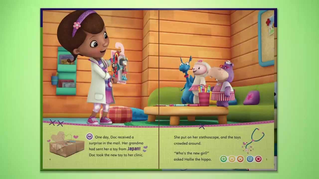 Disney Doc McStuffins: The New Girl   LeapReader Book   LeapFrog