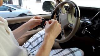 how to program a gm keyless entry remote key fob lhj011