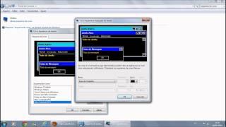 Tutoral como mudar o esquema de cores do windows 7 Home Basic