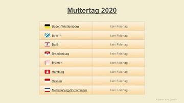Wann Ist Muttertag In Deutschland : wann ist muttertag 2020 online casino per telefonrechnung bezahlen ~ A.2002-acura-tl-radio.info Haus und Dekorationen