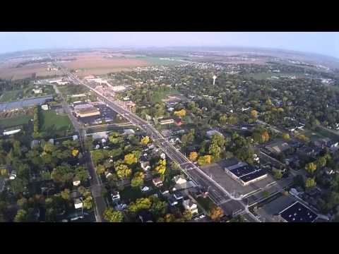 DMZ AIMQ Drone over Sauk City, WI