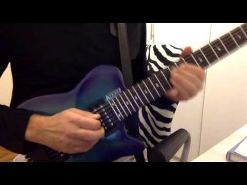 Allan Holdsworth Non Brewed Condiment - Kiesel HH2 Guitar