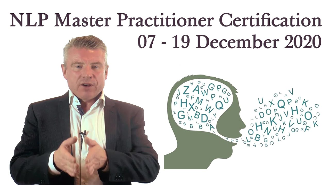 NLP Master Practitioner Certification 07 - 19 December ...