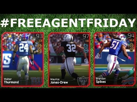#MUT25 | #FreeAgentFriday Maurice Jones Drew, Brandon Spikes, & More | Card Review