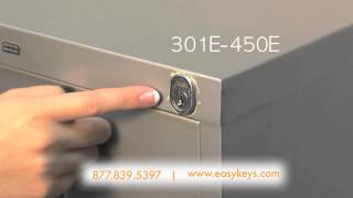 Gambar cover HON File Cabinet, Desk or Cubicle Office Furniture Key and Lock Help