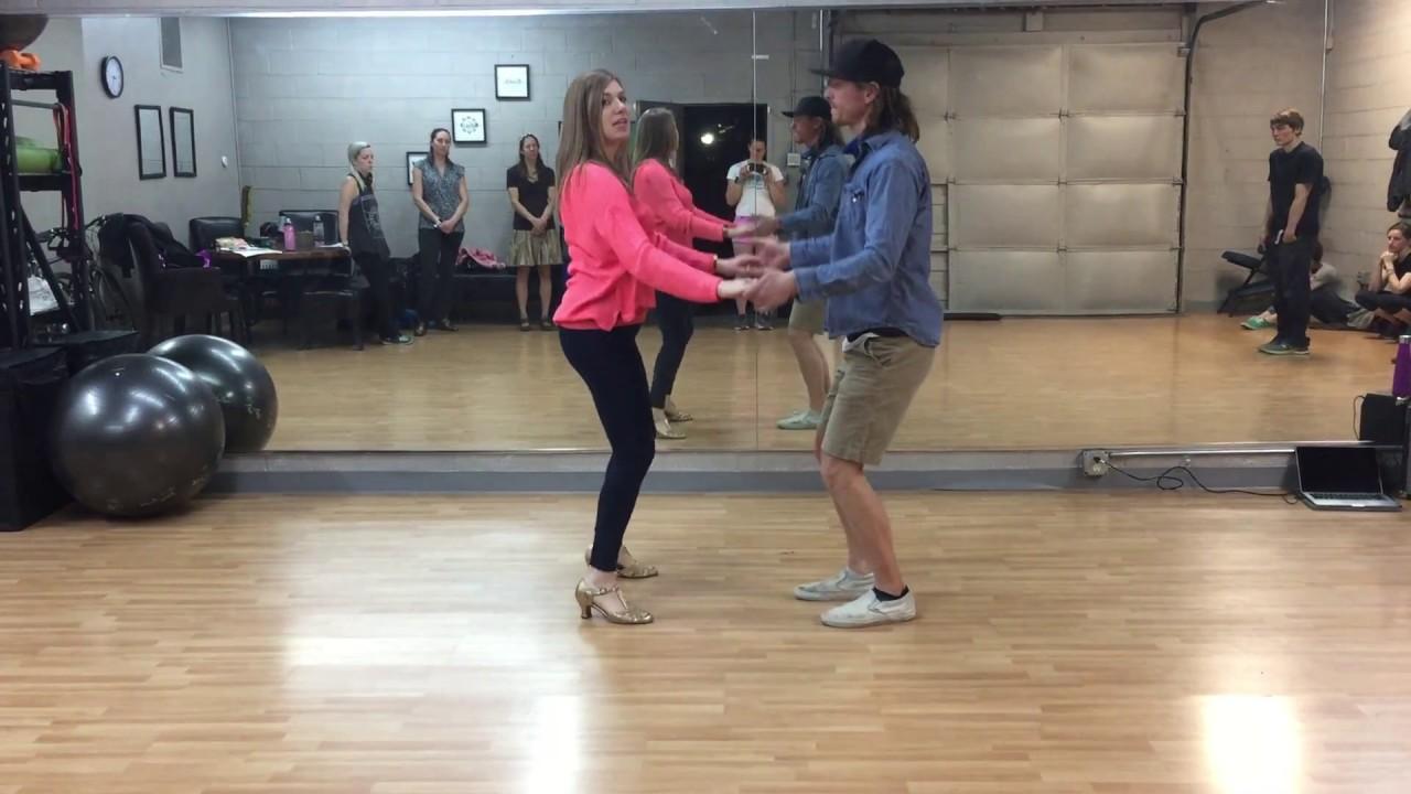 Beginner Swing Dance Jitterbug Class   Basics