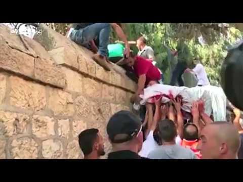 الفلسطينيون يهربون جثمان شاب فلسطيني قتلته إسرائيل في القدس  - نشر قبل 2 ساعة