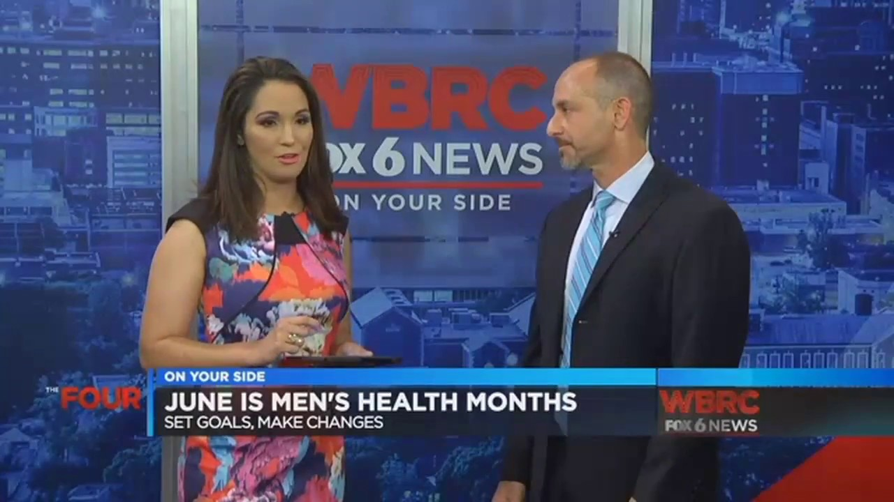 Men's Health Month- A Challenge For Every Man WBRC Fox 6 News