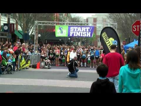 Start Run Rogue 5k Race Fairfax VA 03-24-2012