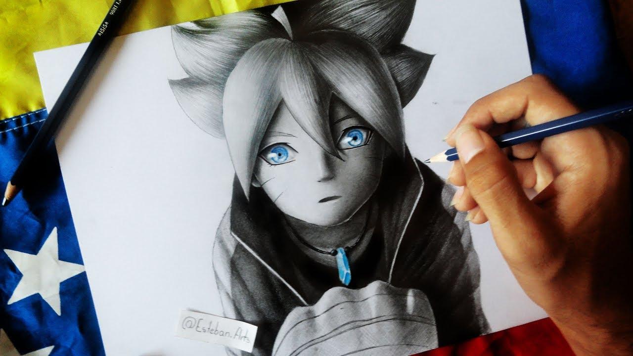 Como Dibujar A Boruto Uzumaki How To Draw Boruto Uzumaki Next