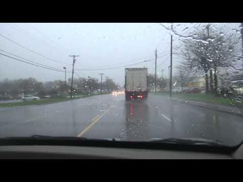 Severe weather fun in Rochester, NY.