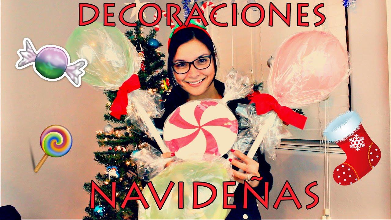 Decoraciones navide as exteriores youtube - Decoraciones navidenas faciles ...