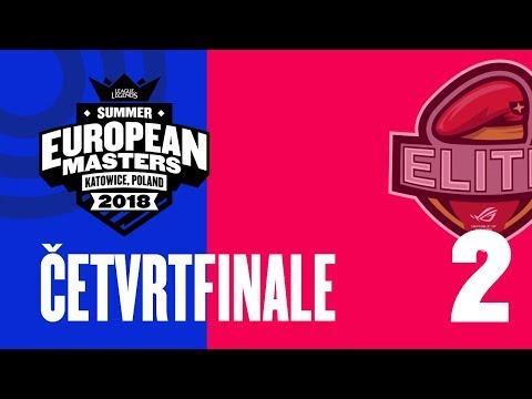EU Masters Sezona 2 - ASUS vs PANATHINAIKOS - ČETVRTFINALE