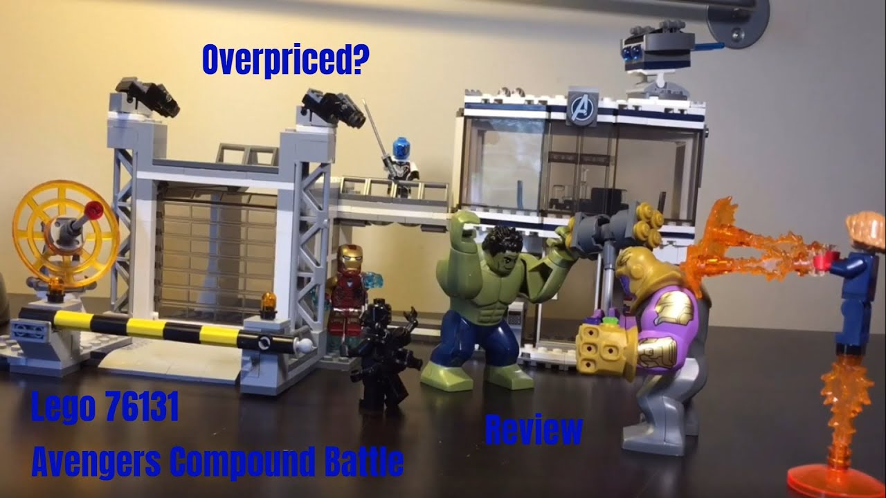 76131 Avengers Compound Battle Review!! - YouTube