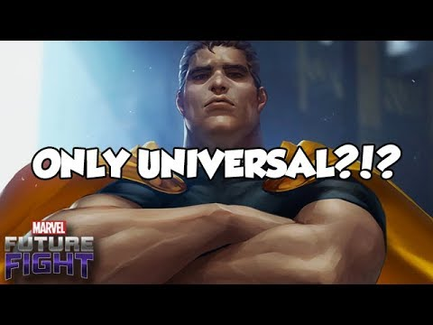 ONLY UNIVERSAL?!? - Marvel Future Fight