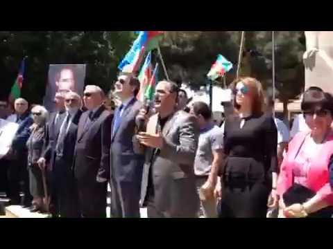 Milli Şuranın Respublika Günü münasibətilə mitinqi