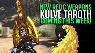 NEW RELIC WEAPONS Time To Get Excited About Kulve Taroth Monster Hunter World Update