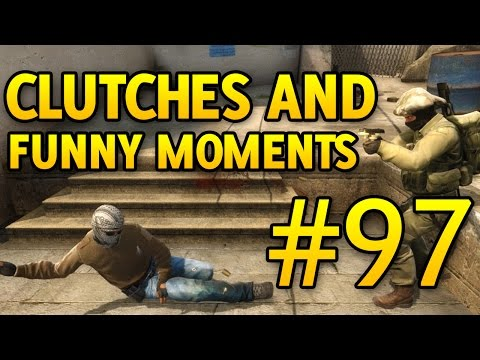 CS GO Funny Moments and Clutches #97 CSGO