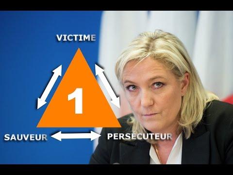 Le triangle dramatique de Karpman et Marine Le Pen.