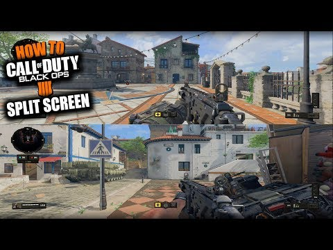 HOW TO SPLIT SCREEN IN BLACK OPS 4 MULTIPLAYER, ZOMBIES, BLACKOUT & LOCAL PLAY ON PS4 & XBOX ONE