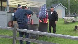 Today Veterans Celebrated Flag Day in the Upper Peninsula