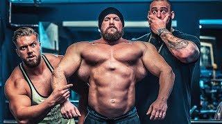 Wenn Giganten Rücken trainieren!! Monster mit einem mörder Rücken!!