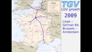 French TGV System Growth