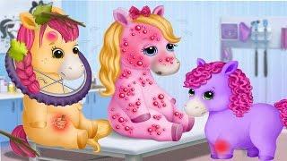 Сестрички Пони/Pony Sisters Pet Hospital.Больница для Животных.Игровой Мультик про Лошадок