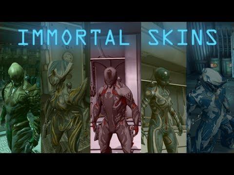 Warframe Immortal Skins