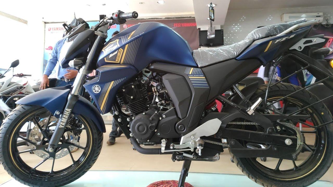 Yamaha Fzs  Matt Black