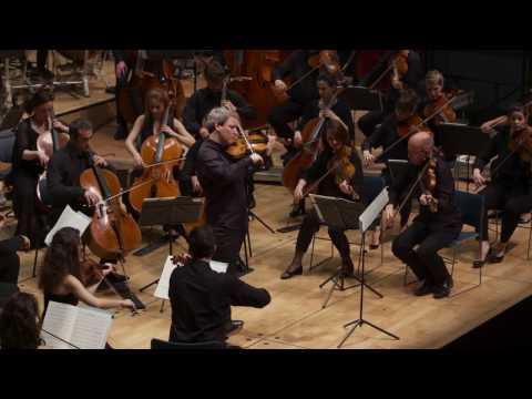 Schumann violin concerto by David Grimal & Les Dissonances (1st Mvt)