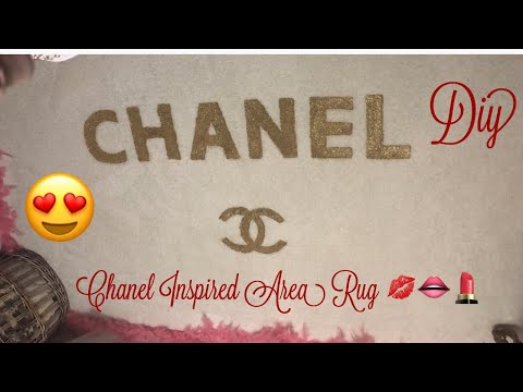 Chanel Inspired Area Rug (Diy)