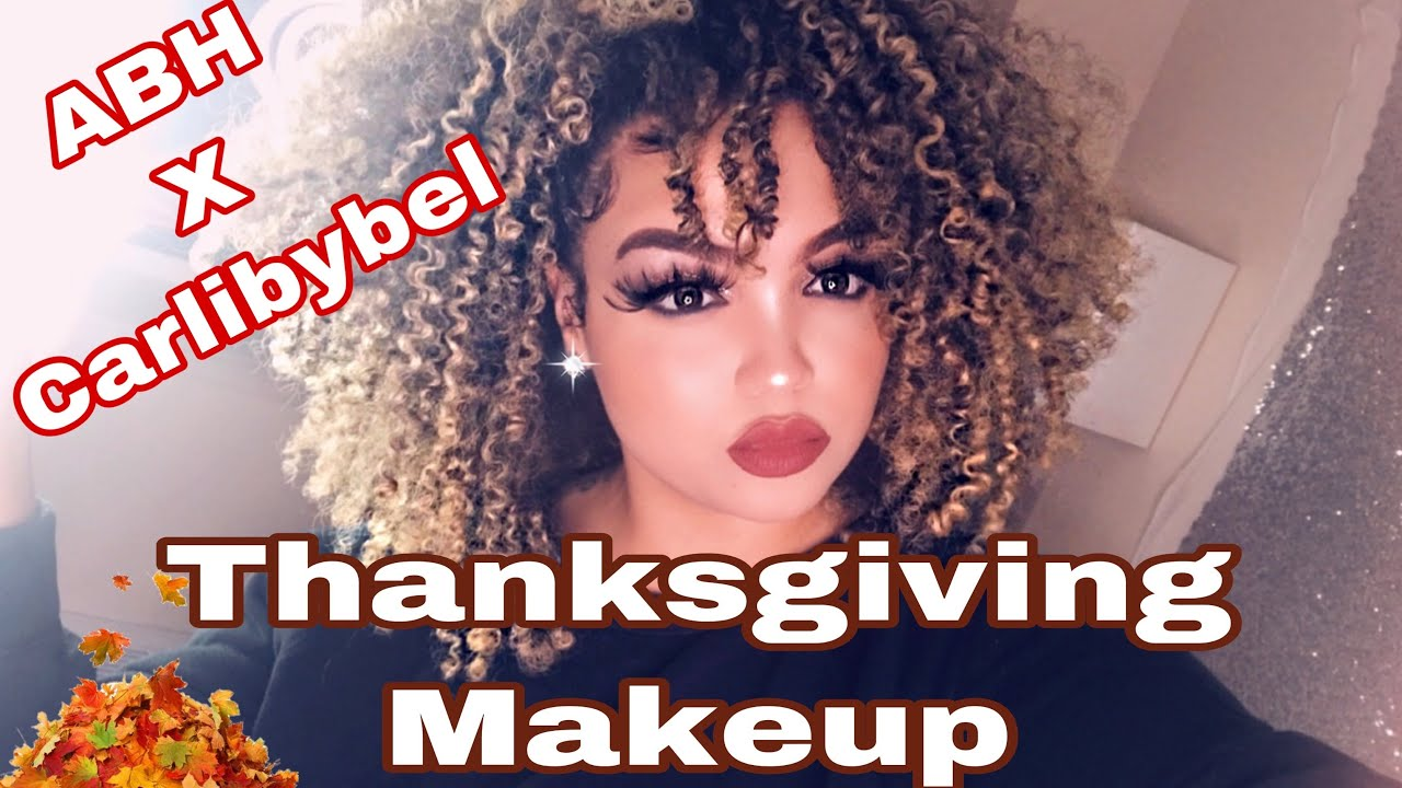 FALL THANKSGIVING MAKEUP LOOK FT: ABH x CARLI BYBEL PALETTE | STACEYMARIEBEAUTY