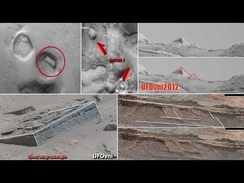Discovery of Pyramids and Other Ancient Ruins in the Region of Gale Crater MARS