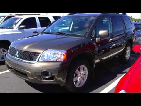 2011 Mitsubishi Endeavor AWD Start Up, Quick Tour, & Rev With Exhaust View - 18K
