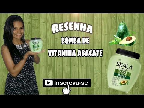 Resenha skala bomba de vitamina Abacate   PAULA FONTOURA ❤
