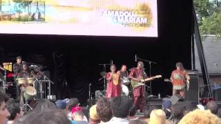 Amadou & Mariam - Masiteladi Live NYC Central Park 2012 Good Sound Quality