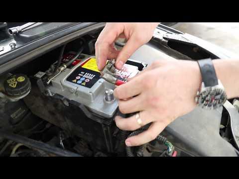 Замена аккумулятора Ford focus 3, 2014г.в