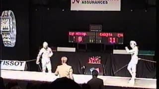 1998 World Fencing Championships,  La Chaux-de-Fonds, SUI, Men