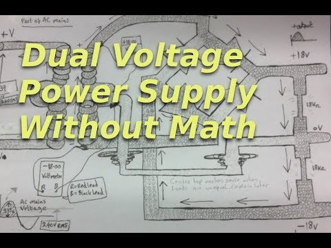 Dual Voltage Linear Power Supply Build (part 1)