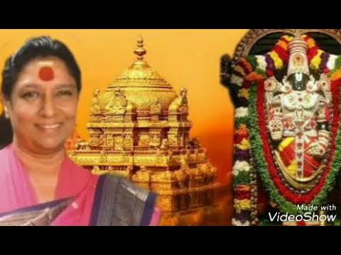 Tirupathi Venkateshwara Bhakthi songs by Smt. S Janaki ll Vol- 1ll Kannada