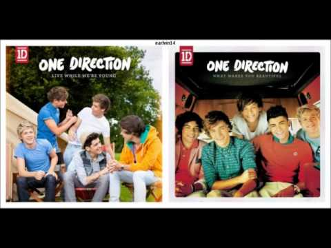 What Makes You Beautiful mashup Live While We're Young