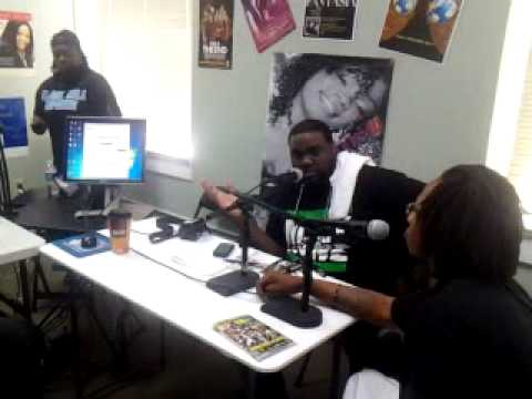 Solo TrillPimp'N on The Ray Daniels Morning Show A105 Radio