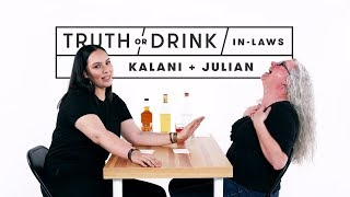 In-Laws Play Truth or Drink (Kalani & Julian) | Truth or Drink | Cut