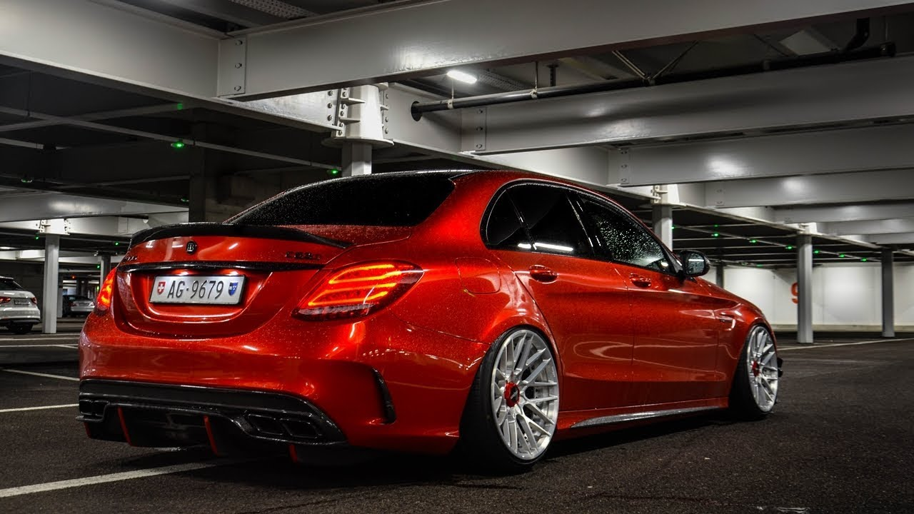 Mercedes C63s AMG Edition 1 W/ Rotiform Wheels