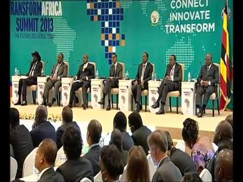 Transform Africa Summit 2013 - Kigali, 29 October 2013