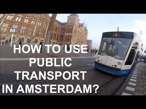How To Use Public Transport In Amsterdam , The Netherlands And Get From Schiphol To Amsterdam In 4K